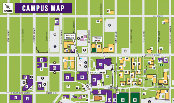 scranton university campus map Campus Maps Our Campus The University Of Scranton scranton university campus map