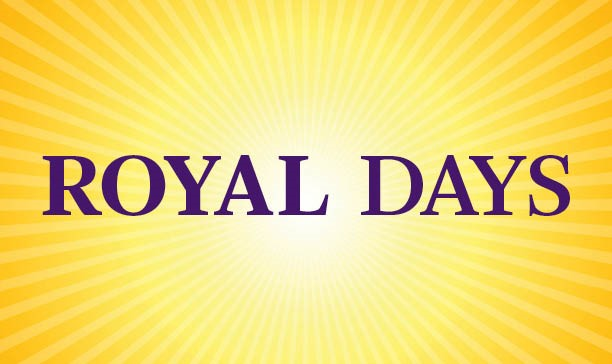 Royal Days for Accepted Students